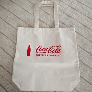 コカコーラ(コカ・コーラ)の新品🌟 コカ・コーラトートバッグ  (ノベルティグッズ)