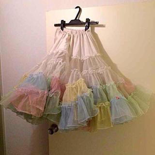 ロキエ(Lochie)のUSA vintage チュールスカート 【ちぴ様専用】(ひざ丈スカート)