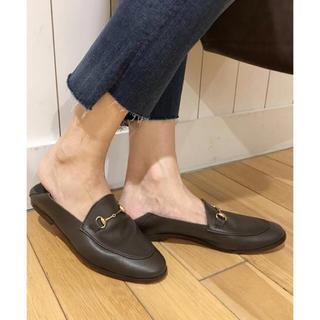 ドゥーズィエムクラス(DEUXIEME CLASSE)の【miina様専用です‼︎】CAMINANDO BIT スリッポン 36(ローファー/革靴)