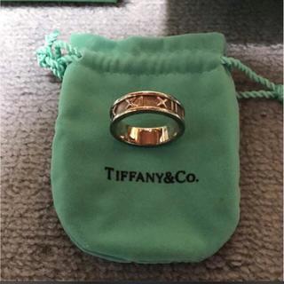 ティファニー(Tiffany & Co.)のTIFFANY & CO ティファニー 指輪 リング アトラス ペンダントトップ(リング(指輪))