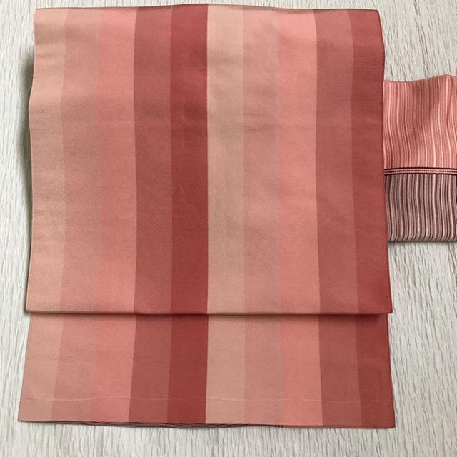 名古屋帯 ピンク レディースの水着/浴衣(振袖)の商品写真