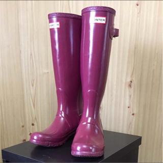 ハンター(HUNTER)のハンター HANTER original gloss tall(レインブーツ/長靴)