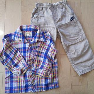 ナイキ(NIKE)の300◆値下げ◆ナイキズボンとシャツ95◆送料無料(パンツ)