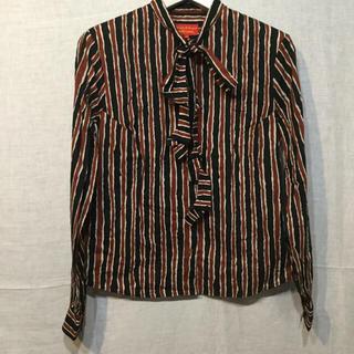 ヴィヴィアンウエストウッド(Vivienne Westwood)のVW ヴィヴィアン ボタンシャツ  正規品(シャツ/ブラウス(長袖/七分))