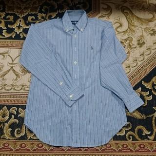 ポロラルフローレン(POLO RALPH LAUREN)の【最終値下げ】140㎝ポロラルフローレン 長袖ワイシャツ(ドレス/フォーマル)