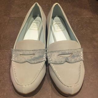 ランダ(RANDA)のRanda ランダ ローファー 美品 23.5㎝(ローファー/革靴)