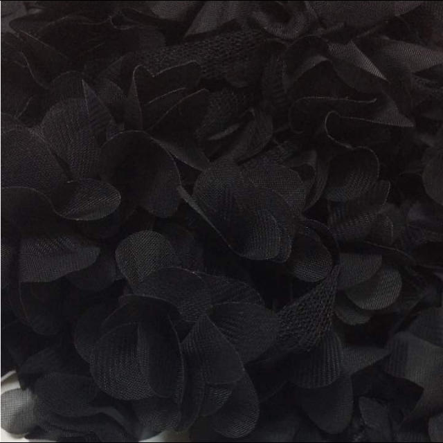 ブラックタッセル❤️2ヤード ハンドメイドの素材/材料(各種パーツ)の商品写真