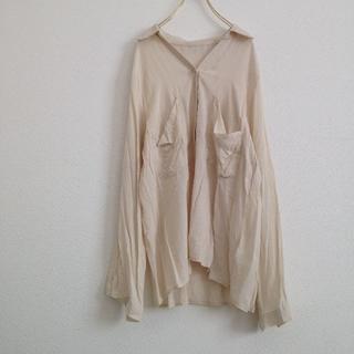 ゆるてろシャツ オフホワイト(シャツ/ブラウス(長袖/七分))