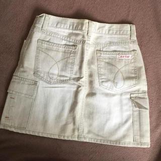 カルバンクライン(Calvin Klein)のカルバン・クライン デニムミニスカート(ミニスカート)