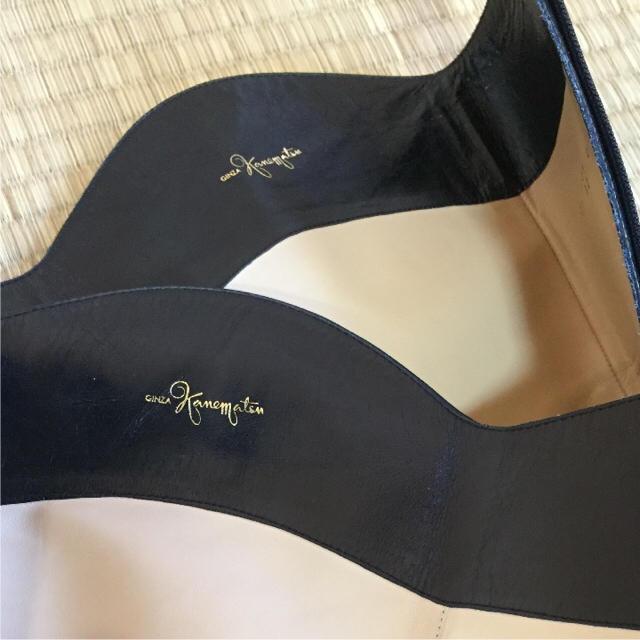 GINZA Kanematsu(ギンザカネマツ)の銀座かねまつ ロングブーツ ブラック 23㎝ レディースの靴/シューズ(ブーツ)の商品写真