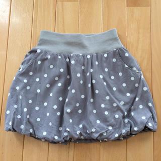 ジーユー(GU)のGU☆バルーンスカート 130cm グレー(スカート)