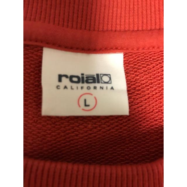 roial(ロイヤル)のロイヤル トレーナー メンズのトップス(スウェット)の商品写真
