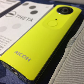 リコー(RICOH)のRICHO THETA m15 イエロー 360°カメラ(その他)