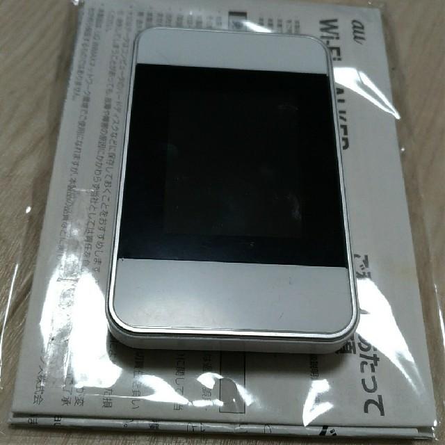 ファーウェイ Wi-Fi WALKER WiMAX 2+ HWD15 白 スマホ/家電/カメラのスマートフォン/携帯電話(その他)の商品写真