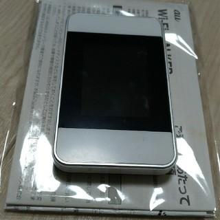 ファーウェイ Wi-Fi WALKER WiMAX 2+ HWD15 白(その他)
