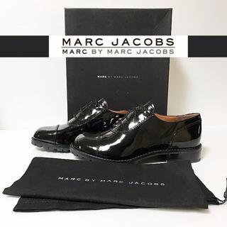 マークバイマークジェイコブス(MARC BY MARC JACOBS)の★新品正規品★マークバイマークジェイコブス/黒オックスフォードシューズ(ローファー/革靴)