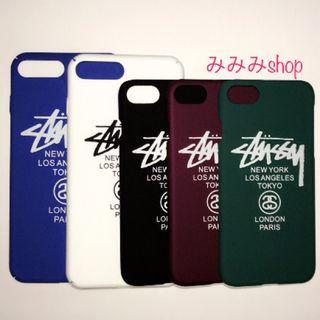 ステューシー(STUSSY)のiPhoneケース STUSSY 各色 各機種あり(iPhoneケース)