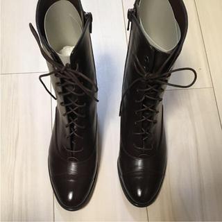 KAGURA レースアップショートブーツ(ブーツ)