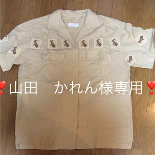 ピンクハウス(PINK HOUSE)の専用商品❣️ピンクハウス 刺繍ウサギワッペン付半袖チェックシャツ(その他)