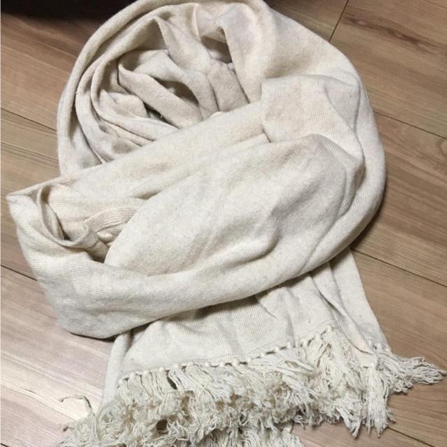 Cher(シェル)のcher大判カシミヤストール レディースのファッション小物(ストール/パシュミナ)の商品写真