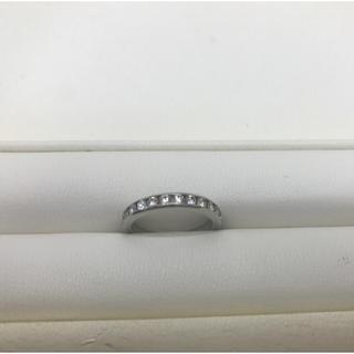 ティファニー(Tiffany & Co.)の ティファニー ダイヤモンドウェディングバンドリング 9号 プラチナ(リング(指輪))