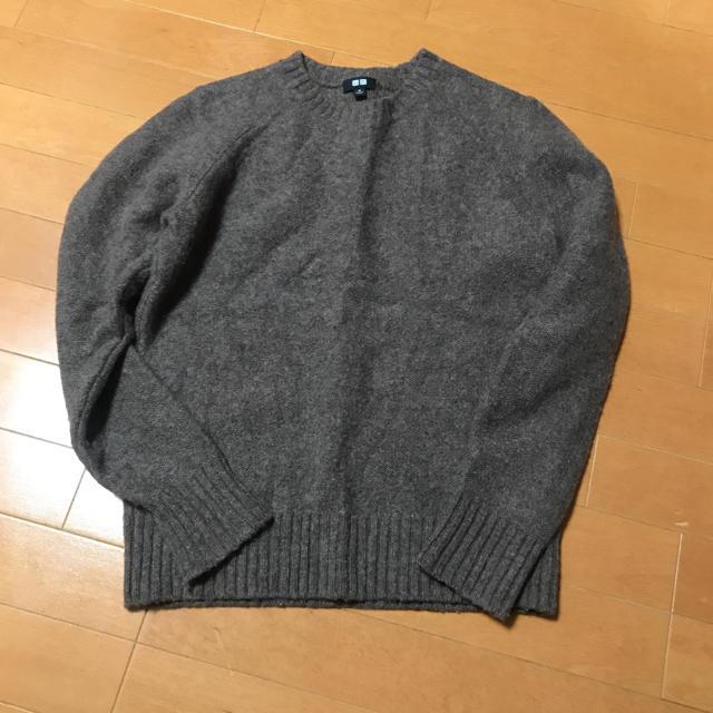 UNIQLO(ユニクロ)のユニクロ ウールニット メンズのトップス(ニット/セーター)の商品写真