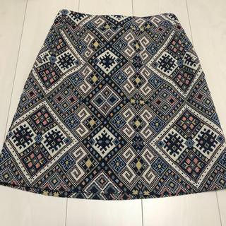 ローリーズファーム(LOWRYS FARM)の【今季新作】ゴブラン織りAラインスカート(ミニスカート)