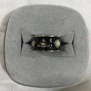 ヴィヴィアンウエストウッド(Vivienne Westwood)のVivienneWestwood ヴィヴィアンウエストウッド 黒キングリング(リング(指輪))