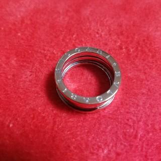 ブルガリ(BVLGARI)の⚫ブルガリ ビーゼロワン ホワイトゴールド 16号(リング(指輪))