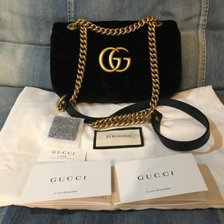 c15dd142b856 グッチ(Gucci)の未使用 GUCCI グッチ ロンハーマン GGマーモントベルベットミニ