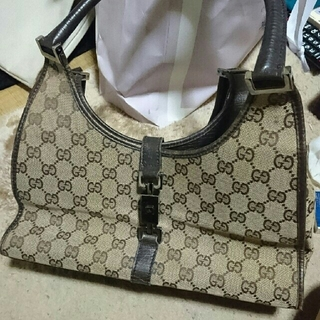 7a30ba792c1a Gucci - GUCCI ハンドバッグの通販 by Mmm's shop|グッチならラクマ, W Pocket:abbb532a ...