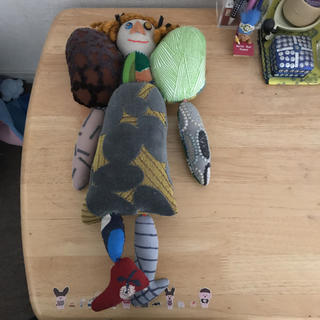 ミナペルホネン(mina perhonen)の✳︎ミナペルホネン 人形✳︎(ぬいぐるみ/人形)