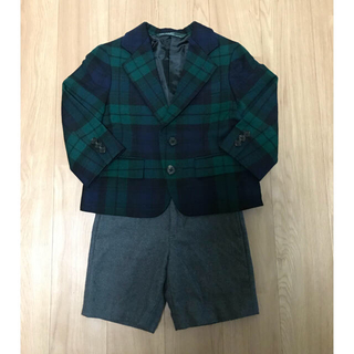 ポロラルフローレン(POLO RALPH LAUREN)の中古+新品 100 ポロラルフローレン 上下セット スーツ (ドレス/フォーマル)