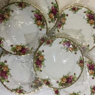 ロイヤルアルバート(ROYAL ALBERT)のロイヤルアルバート  ケーキ皿6枚セット(食器)