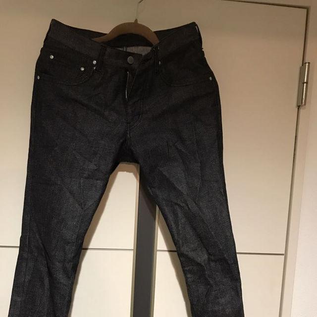 ABAHOUSE(アバハウス)のアバハウス ブラックデニムs メンズのパンツ(デニム/ジーンズ)の商品写真