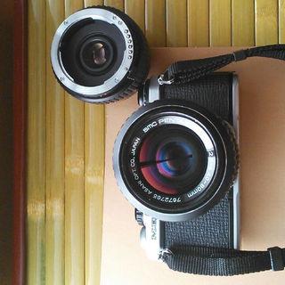 リコー(RICOH)のwpecker 様専用 meスーパー テレコン 40-80mm(フィルムカメラ)