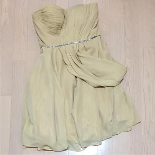 海外製 膝丈ドレス(ミディアムドレス)