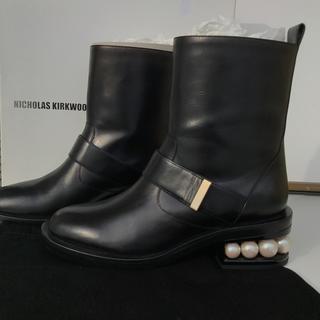 ニコラスカークウッド(Nicholas Kirkwood)の新品未使用♡ニコラスカークウッド Nicholas Kirkwood  ブーツ(ブーツ)