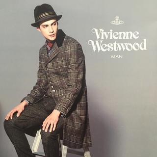 ヴィヴィアンウエストウッド(Vivienne Westwood)の売り切り価格 Vivienne Westwood グレンチェックコート (チェスターコート)