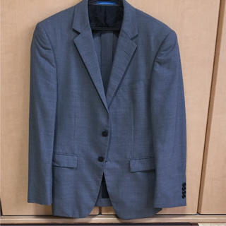 オリヒカ(ORIHICA)のORIHlCA メンズスーツ グレー ストライプ ジャケットのみ(スーツジャケット)