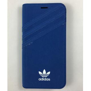 アディダス(adidas)の【正規品】adidas iPhone7/8/Xケース 手帳型 ブルー新品(iPhoneケース)