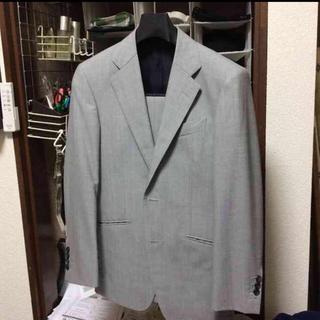 ドーメル スーツ ライトグレー 春夏 中古(セットアップ)