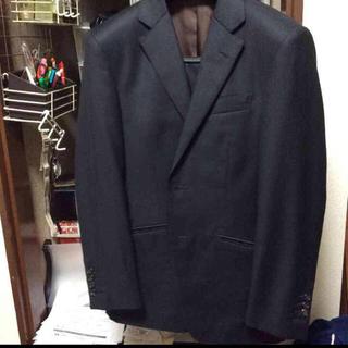 エルメネジルドゼニア(Ermenegildo Zegna)のサビルクリフォード スーツ 黒シャドー 中古 秋冬(セットアップ)
