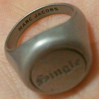 マークジェイコブス(MARC JACOBS)のMARC JACOBS リング 9号(リング(指輪))