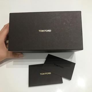 トムフォード(TOM FORD)のトムフォード★サングラス 箱 カード 2点セット(サングラス/メガネ)