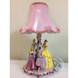 ディズニー(Disney)の新品・未使用・ディズニー・プリンセス・テーブルランプ・オーロラ・ベル・シンデレラ(テーブルスタンド)