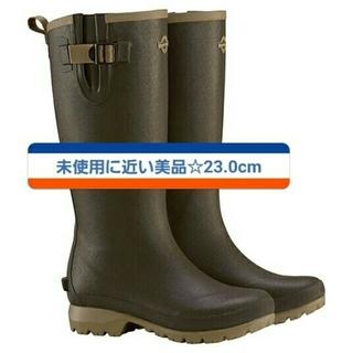 モンベル(mont bell)の【 新品に近い美品】23cm mont-bell 長靴 レインブーツ(レインブーツ/長靴)