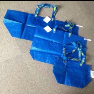 イケア(IKEA)の3枚 IKEA バッグ エコバッグ LMSサイズ FRAKTA キャリーバッグ(エコバッグ)