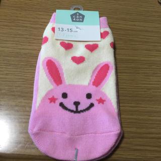 サンカンシオン(3can4on)の靴下  13〜15  新品  女の子(靴下/タイツ)