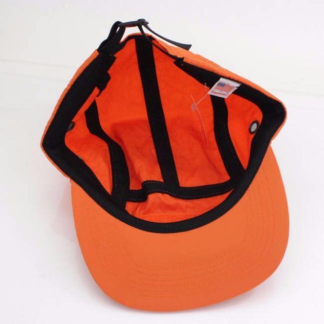 Supreme(シュプリーム)のシュプリーム Camp Cap 2017FALL Box Logo オレンジ メンズの帽子(キャップ)の商品写真